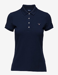 ORIGINAL SS PIQUE - polo shirts - evening blue