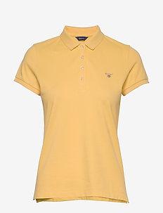 ORIGINAL SS PIQUE - poloskjorter - mimosa yellow