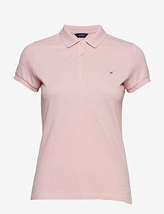 ORIGINAL SS PIQUE - koszulki polo - preppy pink
