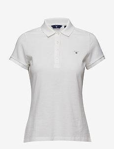 ORIGINAL SS PIQUE - koszulki polo - white