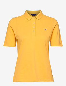THE ORIGINAL PIQUE LSS - poloskjorter - mimosa yellow