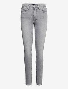 SKINNY SUPER STRETCH JEANS - skinny jeans - grey worn in
