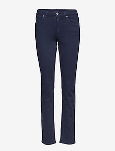 SLIM TWILL JEANS - jeans slim - marine