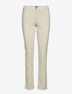 SLIM TWILL JEANS - slim jeans - putty