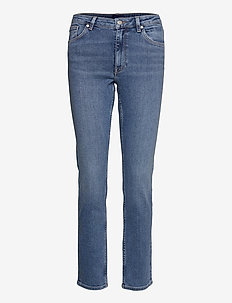SLIM SUPER STRETCH JEANS - slim jeans - semi light blue broken in