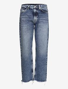 D1. CROPPED AUTHENTIC JEANS - straight jeans - semi light blue vintage