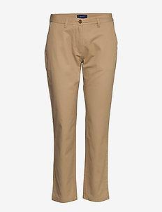 CLASSIC CHINO - bukser med lige ben - dark khaki