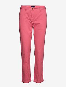CLASSIC CHINO - spodnie proste - rapture rose
