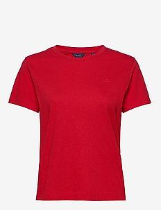 ORIGINAL SS T-SHIRT - basic t-shirts - bright red