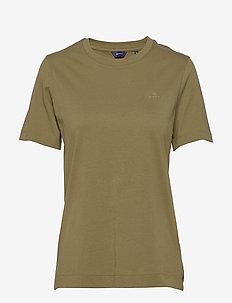 ORIGINAL SS T-SHIRT - t-shirty basic - olive green