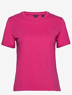 ORIGINAL SS T-SHIRT - t-shirts - rich pink