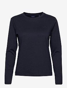 THE ORIGINAL LS T-SHIRT - long-sleeved tops - evening blue