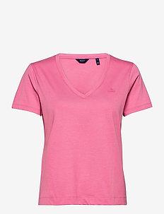 ORIGINAL V-NECK SS T-SHIRT - t-shirts - chateau rose
