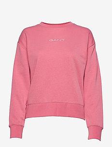 D1. 13 STRIPES C-NECK SWEAT - sweatshirts - chateau rose