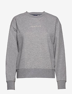 D1. 13 STRIPES C-NECK SWEAT - sweatshirts - grey melange