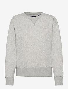 ORIGINAL C-NECK SWEAT - sweatshirts - light grey melange