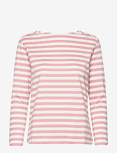D1. STRIPED TOP - SUMMER ROSE
