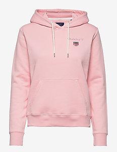 D1. MEDIUM SHIELD HOODIE - hættetrøjer - preppy pink