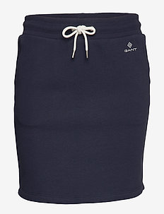 LOCK UP SWEAT SKIRT - EVENING BLUE