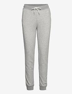 LOCK UP SWEAT PANTS - sweatpants - grey melange