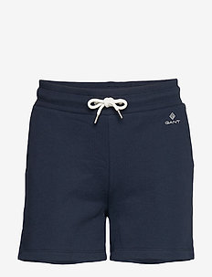 D1. GANT LOCK UP SWEAT SHORTS - casual shortsit - evening blue