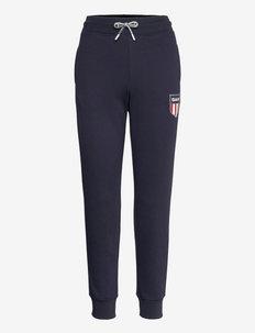 D1.  GANT RETRO SHIELD SWEAT PANT - joggings - evening blue