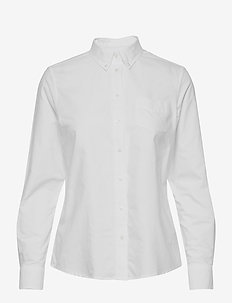 PERFECT OXFORD SHIRT - langermede skjorter - white