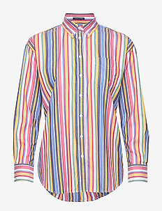 D1. MULTI STRIPE EXB SHIRT - WARM SUN