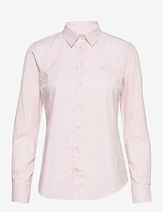 THE OXFORD BANKER SLIM SHIRT - langermede skjorter - preppy pink