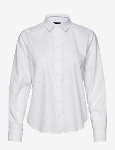 REGULAR OXFORD SHIRT - koszule z długimi rękawami - white
