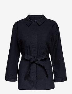 D1. OP UTILITY JACKET SHIRT - overshirts - evening blue