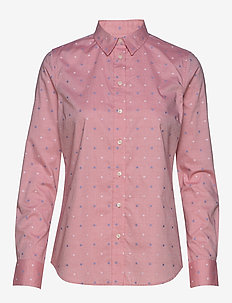 D1. FIL COUPE FLOWER SHIRT - RAPTURE ROSE