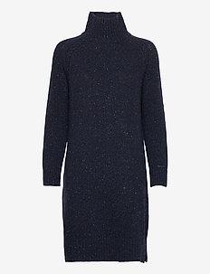 D2. NEPS KNITTED DRESS - neulemekot - evening blue