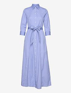 D2. MAXI SHIRT DRESS - skjortekjoler - lavender blue