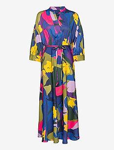 D1. SPLENDID FLORAL DRESS - robes portefeuille - multicolor