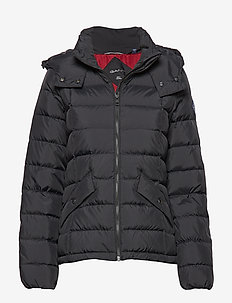 D2. CLASSIC DOWN JACKET - down- & padded jackets - black