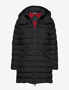 D2. CLASSIC DOWN LONG JACKET - BLACK