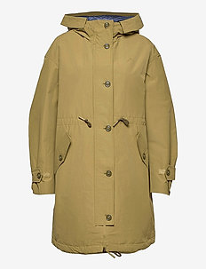 D1. WEEKEND OVERSIZED PARKA - parkaser - olive green