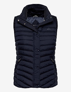 LIGHT DOWN GILET - vadderade västar - evening blue