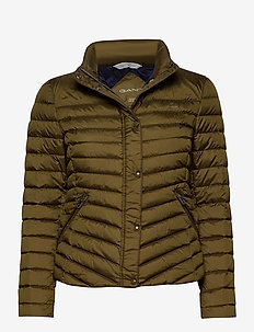 LIGHT DOWN JACKET - down- & padded jackets - dark cactus
