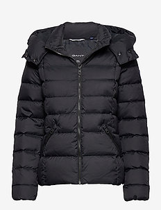 D2. CLASSIC DOWN JACKET - dun- & vadderade jackor - black