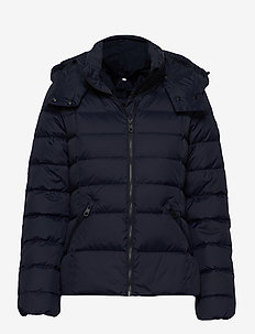 D2. CLASSIC DOWN JACKET - down- & padded jackets - evening blue