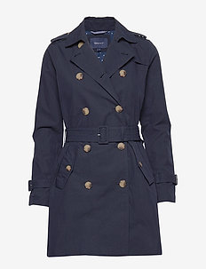D1. TRENCH COAT - MARINE