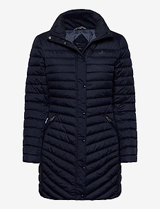 D1. LIGHT DOWN COAT - padded coats - evening blue
