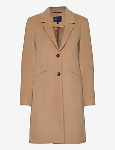D1. CLASSIC TAILORED COAT - wool coats - dark khaki