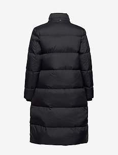 D2. CLASSIC DOWN LONG COAT - padded coats - black