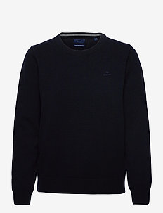 SUPERFINE LAMBSWOOL CREW - jumpers - evening blue