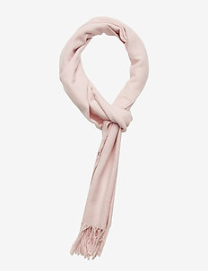 SOLID WOOL SCARF - LIGHT PINK