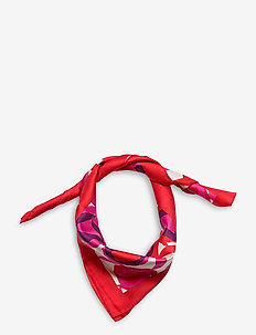 D1. DESERT ROSE SILK SCARF - sjaals - rich pink