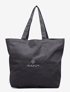 D1. GANT LARGE SHOPPER - BLACK